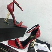 zapatillas directas de fábrica al por mayor-Sandalias de marca Estación Europea Zapatillas de cuero de alta calidad Planas Zapatos casuales Tacones altos 35-41 Envío gratuito directo de fábrica