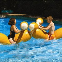 Wholesale inflatable pools sale for sale - Group buy Summer Aquatic Sports Inflatable Floats Thickening Good Stability Security Game Float Swimming Pool Portable Fold PVC Hot Sale lsI1