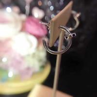 ingrosso perle originali per il matrimonio-Marchio di donne eleganti orecchini irregolari perla autentica moda gioielli in argento per la festa nuziale con confezione regalo 0325