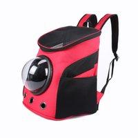 ingrosso nuove forme dello zaino-NUOVO Carrier Dog Cat a forma di spazio Pet Travel Carrying Shoulder Shoulder Shoulder Outside Travel Bag portatile Pet Produc