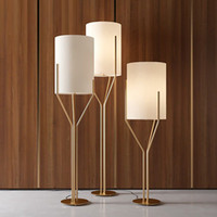ingrosso luci dell'albero d'oro-Postmodern Villa Lampade da terra Decor Tree Studio Room Living Room Placcatura Rose Gold Floor Light Nuovo Fixture Standing Light H181