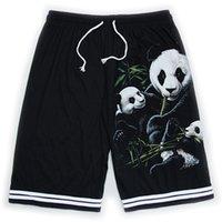 ingrosso taglia i vestiti dei ragazzi-TASTIEN Uomo 3D Pantaloncini Panda Stampato Plus Size Traspirante Spiaggia Abbigliamento di marca Pantaloncini Homme sciolti Ragazzi di alta qualità Cool