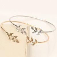 Wholesale summer bracelet for beach for sale - Tree Leaf Open Bracelets Bangles for Women Girls Jewelry Charm Bracelet Mother s Day Gifts Summer Beach Party Jewerly DHL