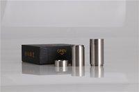 maç ücretsiz sigara toptan satış-Toptan elektronik sigara at mod 2 tüp 18650 18350 pil ile yapılan 316 paslanmaz çelik tarafından yapılan ücretsiz kargo