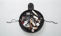 Wholesale makeup brush pack bag resale online - Lazy Cosmetic Case Makeup Organizer Brush bags Multifunction storage Quick Pack Waterproof Beam port for travel with large capacity