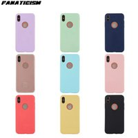Wholesale jelly color case online – custom Candy Color Matte Soft TPU Phone Cases For iphone Pro XR XS Max SE Plus Soft Silicone Jelly Cover