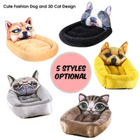 ingrosso sacco a pelo del cane del cucciolo-Pet Dog House Winter Warm Pet Mat Soft Cat Cage Sleeping Sleeping Bag House Puppy Cave Bed For Cats Supplies