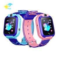 Wholesale smartwatch for children for sale – best Vitog Q12 Smart Watch Multifunction Children Digital Wristwatch Baby smartWatch Phone with camera For Kids child gift