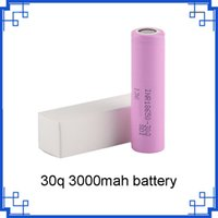 Wholesale lithium battery stocks for sale - Group buy in stock q battery Rechargeable Battery With mah High quality Drain Lithium Batteries vs VTC6 mah by epacket