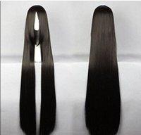 окончательные фантазии косплей парики оптовых-Парик бесплатная доставка 120 см длинный финал фантазия-винсент черный косплей костюм аниме парик