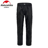 Wholesale waterproof cycling pants men resale online - Mens Waterproof Over Trousers Golf Fishing Hiking Cycling Camping Rain Pants