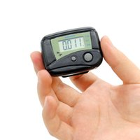 Wholesale mini portable counter for sale - Mini Portable Electronic Wristband Pedometer Digit LCD Run Step Walking Distance Calorie Counter Digital Held Tally Row Counter