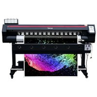 Wholesale inkjet printer heads resale online - 1600mm inkjet printer vinyl canvas ecosolvent printer m solvent printing machine single head