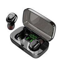 auriculares para nadar al por mayor-XG23 TWS auricular de Bluetooth IPX6 impermeable auriculares sin hilos para la natación Deportes Mini Touch Auriculares de los auriculares con el cargador de la caja