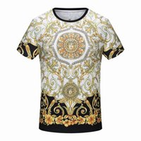 Wholesale mens cool casual shirts resale online - 19SS Summer Edition Mens Designer T Shirts Cotton Tee New The New Summer Cool Clothes Large Size Black Cotton Size M xxxl