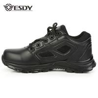 absorção de luz venda por atacado-Botas de Combate de Inverno ao ar livre Quente Ultra Leve Bota de Combate Baixo Absorção de Choque Não-Desgaste Escalada Sneaker Tactical Caminhadas Sapato