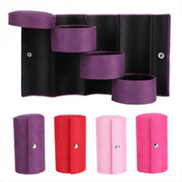 Wholesale pieces for necklaces for sale - Group buy Cylinder Shaped Jewelry Storage Box Layers Jewelry Ring Necklace Storage Box Makeup Organizer for Women Gift