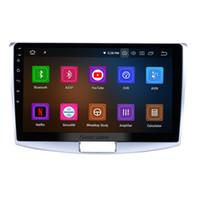 vw magotan toptan satış-Android 9.0 10.1 Inç Araba GPS Navigasyon Için 2012-2015 VW Volkswagen MAGOTAN USB AUX ile Bluetooth desteği araba dvd Direksiyon Kontrolü