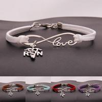 bracelets charmes achat en gros de-Infinity Love Infirmière Charme Bracelet Argent Designer Multicouche Bracelets Bracelet Bracelet Manchette Bracelet Partie Bijoux De Mode Amitié Cadeau