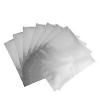 фольгированная маска оптовых-Серебряный Вакуумный Уплотнитель Алюминиевая Фольга Майлара Сумки для Маски Zip-Lock Мешки Для Хранения Для Дома Кухонный Инвентарь