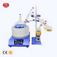 top labs großhandel-ZZKD Top 2L Laborbedarf zur Anreicherung Kristallisation Trocknung Trennung Kurzstrecken-Fraktionsdestillationssystem