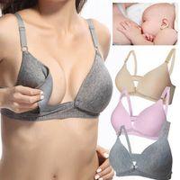 Wholesale maternity breastfeeding clothes resale online - 2019 Pregnancy Nursing Bras Clothing Pregnant Women Fitness Bra Underwear Maternity Breastfeeding Nursing Feeding Bra