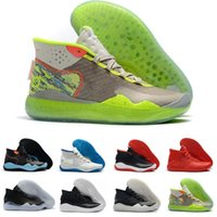 Wholesale kevin durant basketball shoes men resale online - Cheap KD Starting Kevin Durant XII EP The Day One s Protro Green Camo Mens Womens Kid Basketball Shoes s KD12 Sneakers Size36