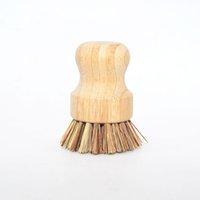 ingrosso ciotola di spazzola-Spazzola di legno portatile Spazzola per la pulizia del piatto Spazzola per la pulizia della casa Utensili per la pulizia della casa Pulire lo strumento ZC0749
