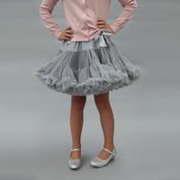 ingrosso tutu blu arancione-Baby Girl Tutu Dress Bow Soft Princess Princess Dress Designer Girl Gonna tinta unita Gonna a trapezio 48