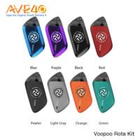 Wholesale metal spin online - Original Voopoo Rota Refillable Pod System ml Capacity Spinning Design W Voopoo Rota v Vladdin