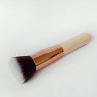 Wholesale flat head makeup brush resale online - BB Cream Makeup Brushes Flat Head Liquid Foundation Brush Loose Powder Brushes Multifunctional Brush Makeup Tool