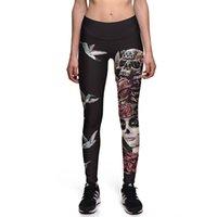 ingrosso xxxl più i pantaloni di yoga di formato-Pantaloni da yoga da donna Pantaloni sportivi taglie forti S-3xL Pantaloni da donna alla moda da donna con faretti da corsa vintage faraone
