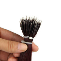 Wholesale nano rings hair for sale - Group buy Elibess Brand Straight Nano Ring Hair Extensions g s g pack Promotional Prices Different Colors Option Hair Extension Free DHL