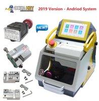 Wholesale cut keys resale online - 2019 DHL Key Cutting Machine Laser Key Duplicator Locksmith Key Machine Key copy Machine