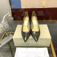 zapatos de hoja al por mayor-Alas de diseño Sandalias de mujer Plata Nude Pink Gold Leaf Strappy Tacones altos Sandalias de gladiador Zapatos de mujer Zapatos Correa de tobillo Vestido pw19070303