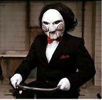 маски для лица с полным лицом оптовых-Маска партии 50PC ужасная маска Хэллоуина на террористической пиле, убийца вольта маска для лица вольто анфас для взрослых h25C