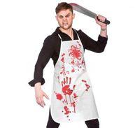 masque sexy personnalisé achat en gros de-Tablier Designer Terreur Unisexe Costume Accessoires De Mode Boucher Cosplay Halloween Cosplay Sang