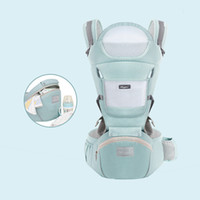 Wholesale kangaroo baby pouch for sale - Group buy Baby Carrier Waist Stool Newborn Walkers Cotton Mesh Summer Autumn Backpack Hipseat Travel Front Facing Pouch Wrap Kangaroo