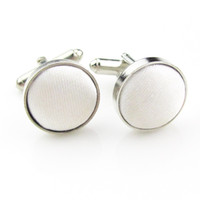 Wholesale fancy cufflinks for sale - Group buy High grade round mens cuff links fashionable trend high quality fancy shirt button cufflinks various colors available