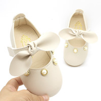 Wholesale baby crochet shoe patterns for sale - Group buy New Girl Woman Baby Study Walking Kids Children Girls Shoes Small Leather Single Shoe Sandals