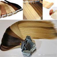 remy insan saç uzatma renkleri toptan satış-19 Renkler seçeneği 16