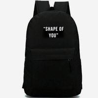 Wholesale shape backpacks for sale - Group buy Shape backpack Of you daypack Ed Sheeran schoolbag Pop design rucksack Casual school bag Outdoor day pack