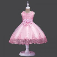 Wholesale formal clothes for wedding resale online - Lace Sequins Princess Dresses Toddler Girls Summer Halloween Party Girl tutu Dress Kids Dresses for Girls Clothes Wedding LJJV267
