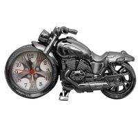 игровые будильники оптовых-ABS мотоцикл будильник игрушки офис подарки мини декора ремесел домашнего декора античный творческий рабочий стол