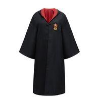 adulto de uma peça venda por atacado-Harry Potter Robe Cloak Cabo Cosplay Costume crianças e adultos Quatro Cores Harry Potter Robe Manto One Piece Venda