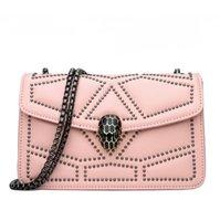 три руки оптовых-аутлет бренд женщины сумочка уличная тенденция трехмерная алмазная сумка через плечо мода змееголов замок ручная сумка INS супер огонь цепь