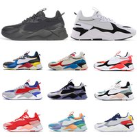 Wholesale x art hot resale online - HOT Triple Black White Puma RS X RS X Men Women Running Shoes Reinvention Toys Tracks Transformers TROPHY Sneakers Mens Trainers