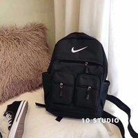 ingrosso male fashion backpacks-Borse a tracolla di marca di marca maschile borse a spalla doppio moda moda zaino zaino di lusso