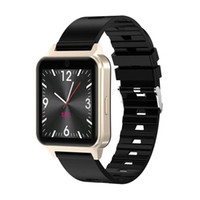 iso karte großhandel-L3 Bluetooth Smart Watch Unterstützung SIM-TF-Karte Kamera Fitness Tracker Herzfrequenz Schlafüberwachung IP67 Wasserdichtes Armband für ISO Andriod