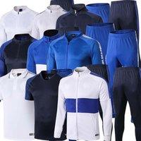 Wholesale uniform hiking resale online - 2019 HAZARD adult soccer training suit Football jacket MOROTA KANTE tracksuit Sweatshirt uniform logo printed S XXL